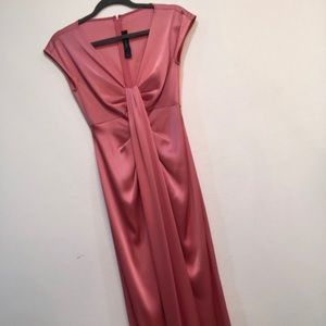 Pink glamour gown